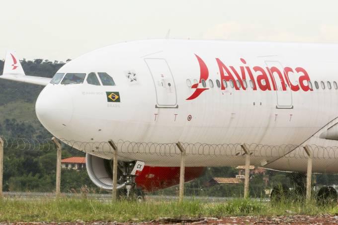 Leilão da Avianca arrecada R$ 555 milhões de reais.