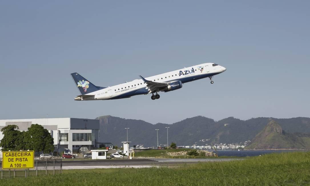 Santos Dumont perderá 80% dos voos durante obra na pista principal