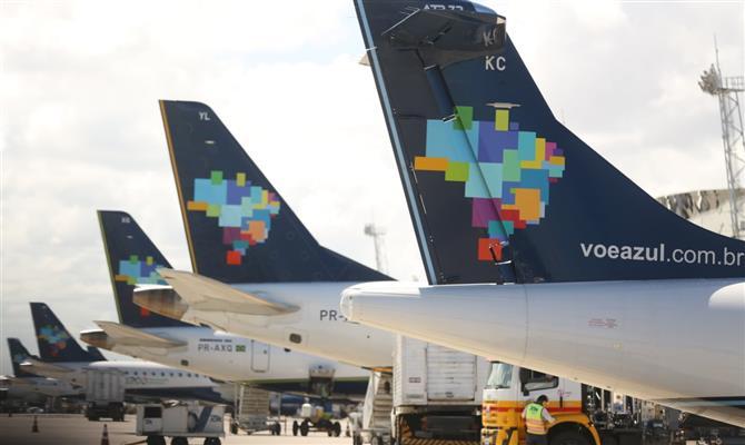 Azul entra na ponte aérea Rio-SP com 34 operações diárias