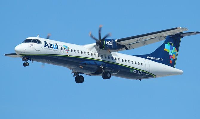 Azul suspende voos de Congonhas para Porto Alegre e Curitiba