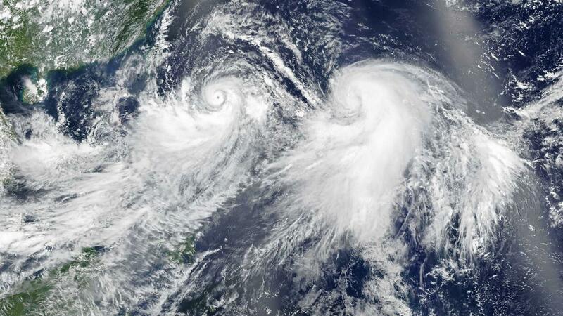 China emite alerta máximo devido a passagem de tufão