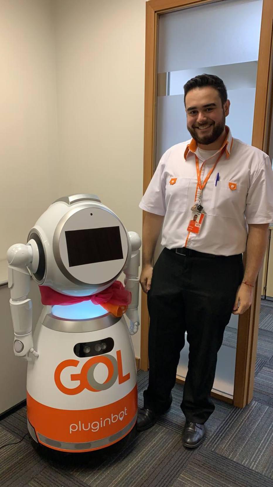 Como vai funcionar a Gal, robô de aeroporto da Gol