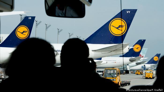 Lufthansa cancela 1.300 voos devido a greve