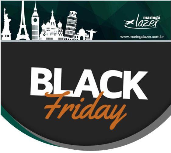 Black Friday de Viagens Maringá Lazer