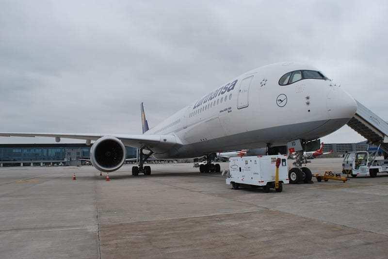 Lufthansa apresenta seu A350-900 em Guarulhos e retoma rota São Paulo-Munique