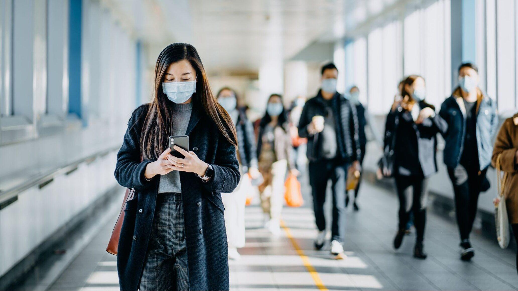 Companhias aéreas vão exigir uso de máscaras em todos os voos