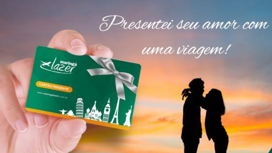 Dia dos Namorados com Cartão Presente Maringá Lazer