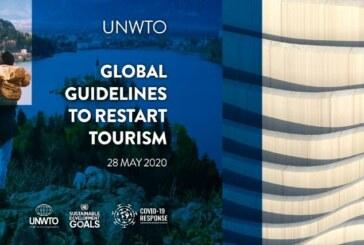 OMT lança diretrizes globais para a reabertura do turismo