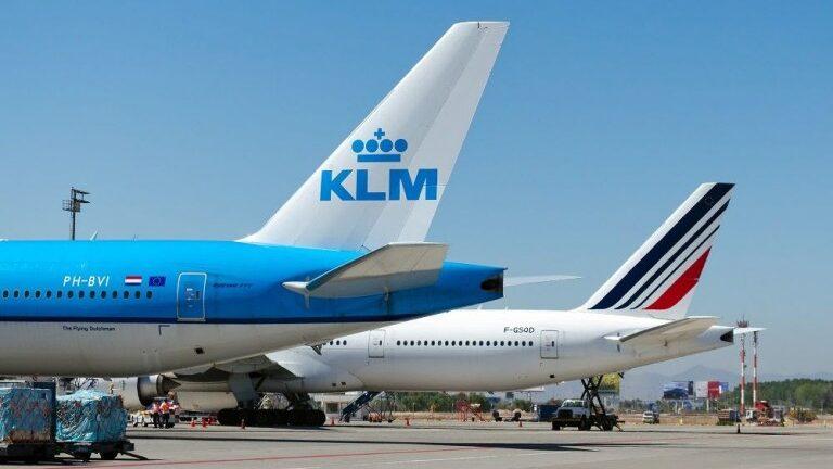 Air France-KLM terão 26 voos semanais para o Brasil até dezembro
