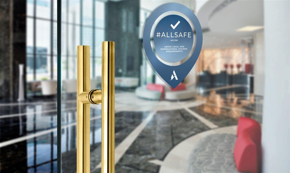 Accor implementa protocolos ALLSAFE em 95% dos hotéis