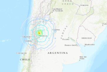 Forte terremoto de 6,4 graus atinge a Argentina
