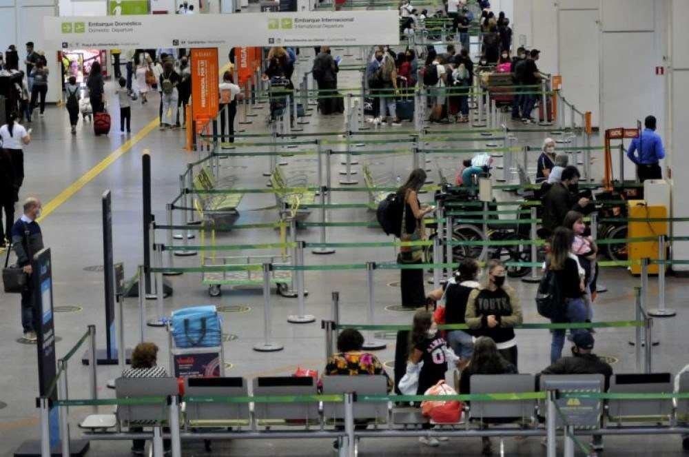 Em 2020, Aeroporto de Brasília foi o segundo mais movimentado do país