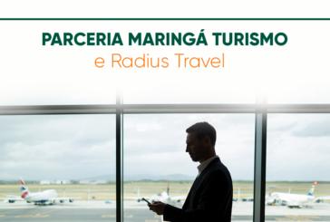 Parceria Maringá Turismo e Radius Travel