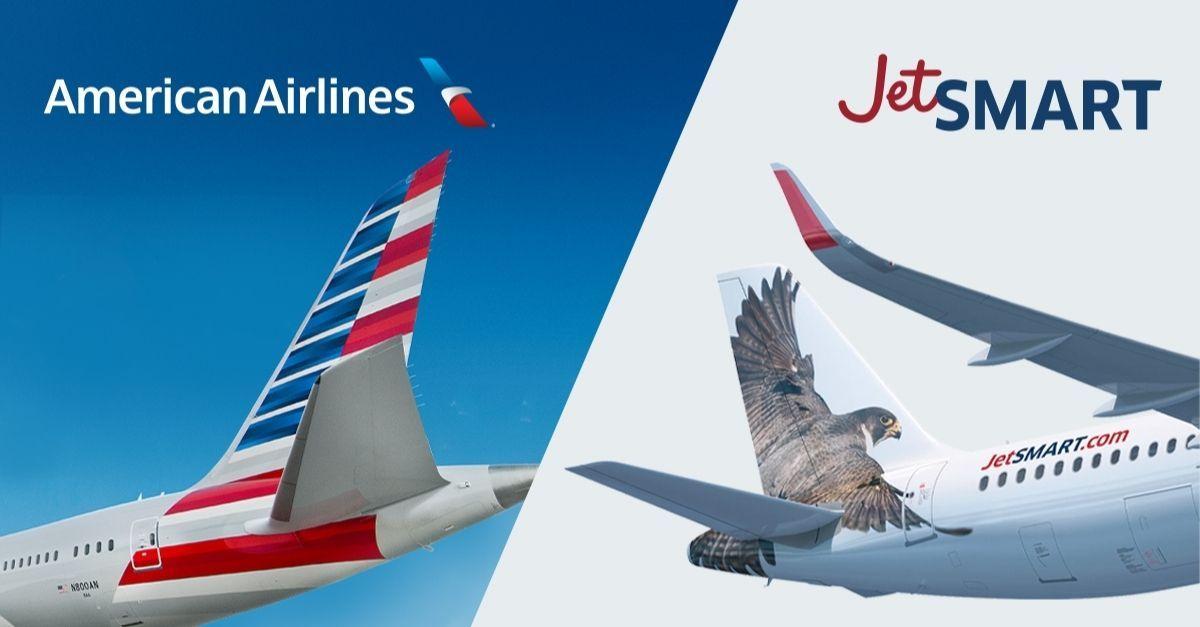 American e JetSmart assinam carta de intenção para codeshare