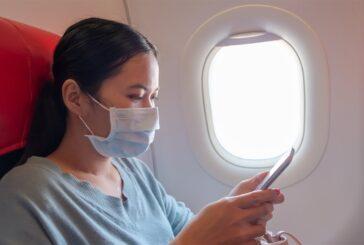 EUA dobram multas para pessoas sem máscara em aviões