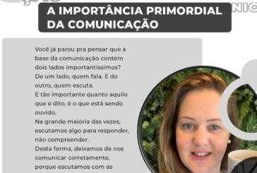 A importância primordial da comunicação